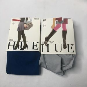 2 Hue Opaque Tights